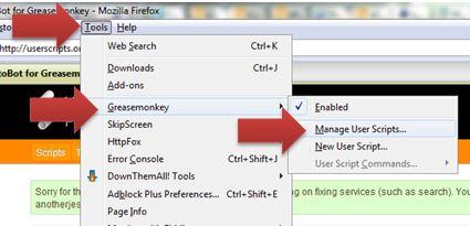 Install / Uninstall User Script on Firefox | Ooiks's Blog