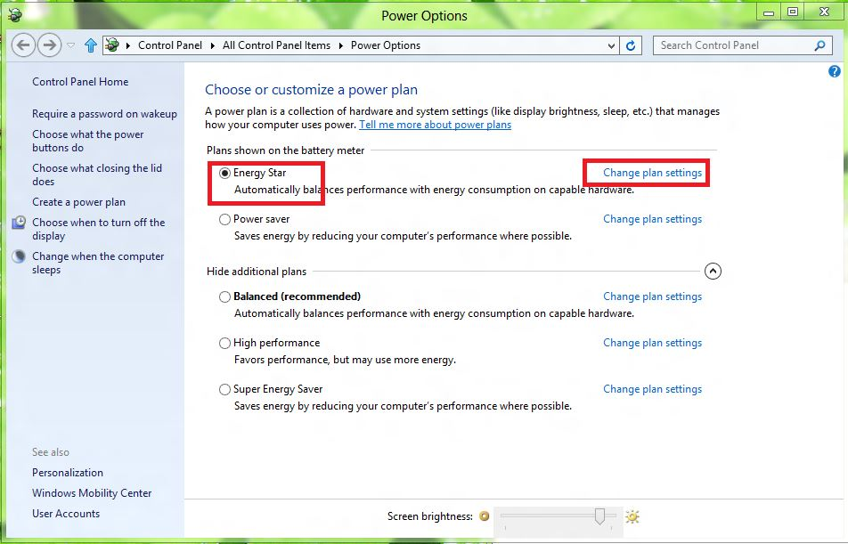 Windows 8 – Screen Brightness Problem | Ooiks's Blog