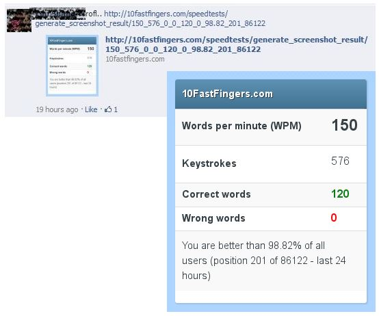 Speed Typing – Challenge Accepted | Ooiks's Blog